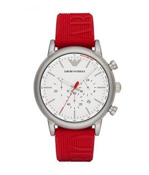 Emporio Armani uhr | Rote Armbanduhr