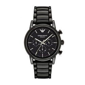 Emporio Armani Uhr | Herren Armbanduhr schwarz