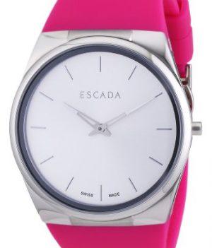 Escada Uhr | Damenuhr Escada | pink damenuhr | Armbanduhr mit pink silikonband