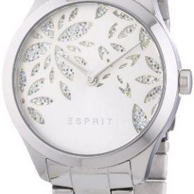 Esprit Uhr | Damenuhr Esprit | Edelstahl Damenuhr | Silber Analoge Armbanduhr