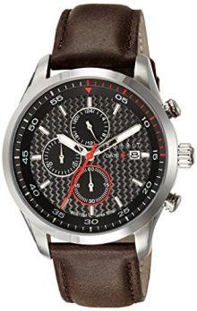 Esprit Uhr | herrenuhr Esprit | Chronographenuhr Herren mit Lederband | Herrenuhr mit Lederband