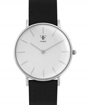 Faber Uhr | Armbanduhr Schwarz