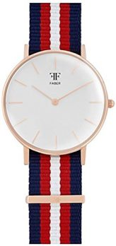 Faber Uhr | Armbanduhr Faber | Damenuhr Faber | Armbanduhr mit Nylonband