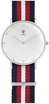 Faber Uhr | Damenuhr Faber | Damenuhr mit Nylonband