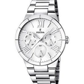 Fetina Uhr | Damenuhr Festina | Edelstahl Armbanduhr Damen