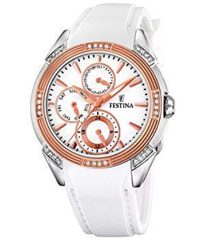 Festina Uhr   Damenuhr Festina   Weiße Damenuhr   Weiße Armbanduhr