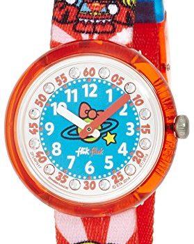 Flik Flak Uhr | Kinderuhr Flik Flak | Kinderarmbanduhr | Rote Kinderuhr |