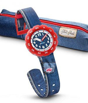 Flik Flak Uhr | Blaue Armbanduhr Junge | Kinderuhr Blau | Armbanduhr Blau Kinder