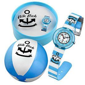 Flik Flak Uhr | Armbanduhr Kinder | Blaue Kinderarmbanduhr | Jungen Armbanduhr | Blaue Jungsuhr