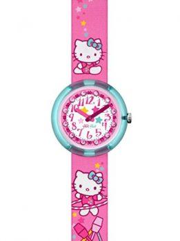 Flik Flak Uhr | Armbanduhr Hello Kitty | Mädchenuhr | Pink Armbanduhr | Armbanduhr Hello Kitty | Kinderuhr Pink