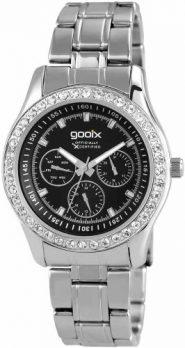 Gooix Uhr | damenuhr gooix | edelstahlarmbanduhr damen