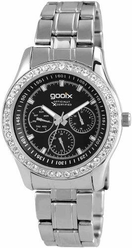 Goonix Uhr | damenuhr goonix | edelstahlarmbanduhr damen