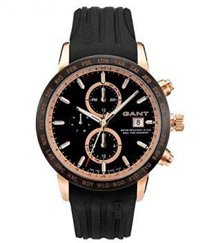 Gant Herren Uhr | Gant Uhr | Armbanduhr Gant Herren | Schwarze Herrenuhr | Armbanduhr Herren schwarz