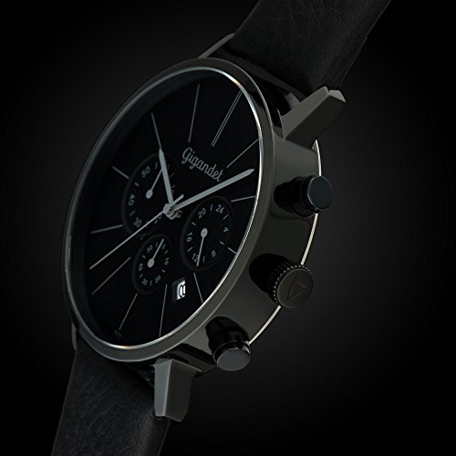 gigandet quarz herren armbanduhr minimalism chronograph. Black Bedroom Furniture Sets. Home Design Ideas