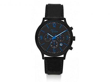 gooix uhr | herrenuhr gooix | schwarz-blaue armbanduhr
