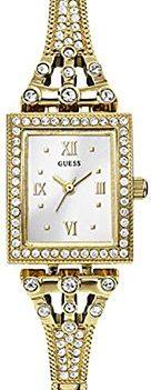 Guess Damen Armbanduhr Analog | Damenuhr Guss | Damenuhr mit weißem Ziffernblatt