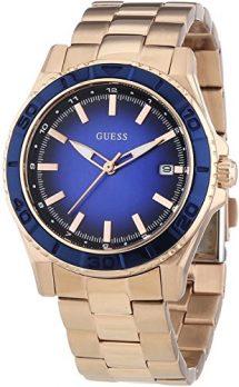 Guess Damen Armbanduhr Analog | Guss Uhr | Damenuhr Guess | Damenuhr mit blauem Ziffernblatt