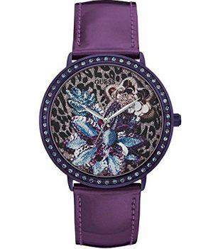 Damenuhr Guess | Armbanduhr Guess | lila Damenuhr | Damenuhr lila | violette Damenuhr