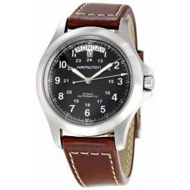 Hamilton Uhr | Armbanduhr Hamilton | herrenuhr Hamilton | braune armbanduhr