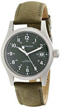 Hamilton Uhr | Herrenuhr Hamilton | olivefarbige armbanduhr herren
