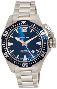 Hamilton Uhr | herrenuhr Hamilton | sportliche herrenuhr | Armbanduhr mit blauem ziffernblatt