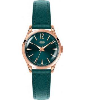 Henry London Damen Uhr   Armbanduhr Henry London   Grüne Damenuhr   Damenuhr mit grünem ziffernblatt