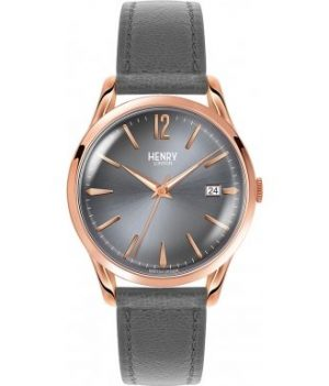 Henry London Uhr   Armbanduhr grau