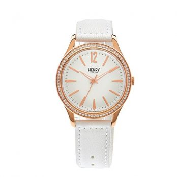 Henry London Uhr | Damenuhr Henry London | weiße damenuhr | armbanduhr weiß