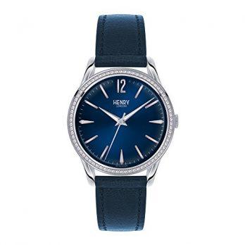 Henry London Uhr | Armbanduhr Henry London | Blaue Armbanduhr