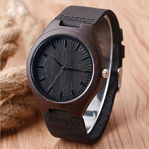 holz uhr herren handgemachte holz armbanduhr herren echtes. Black Bedroom Furniture Sets. Home Design Ideas