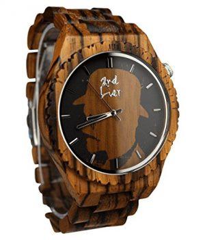 holzuhr kaufen holz armbanduhren online ansehen. Black Bedroom Furniture Sets. Home Design Ideas