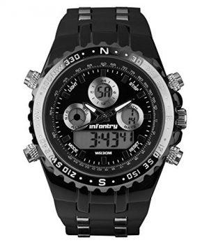 schwarze fliegeruhr   armbanduhr fliegeruhr