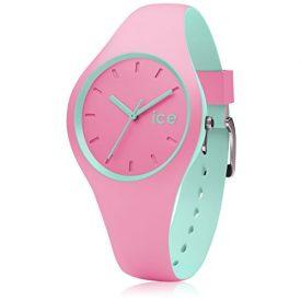 Ice watch uhr   armbanduhr ice watch   damenuhr rosa-türkis   rosa-türkis armbanduhr   mädchenuhr rosa