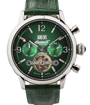 Ingersoll uhr | armbanduhr ingersoll | grüne armbanduhr | grüne Lederarmbanduhr