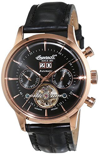 ingersoll herren armbanduhr kearny chronograph automatik. Black Bedroom Furniture Sets. Home Design Ideas