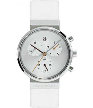 Jacob Jensen Uhr | Armbanduhr Jacob Jensen | Damenuhr Jacob Jensen | weiße Armbanduhr