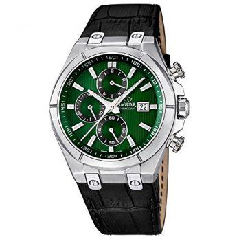 Herrenuhr | Armbanduhr Herren | Schwarz-grüne Armbanduhr |