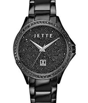 Jette Uhr | Armbanduhr Jette | Damenuhr Jette | schwarze Damenuhr