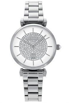 Jette Uhr | Armbanduhr Jette | Damenuhr Jette | Armbanduhr damen silber-weiß