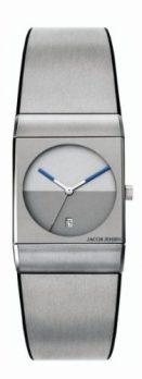 Jacob Jensen Uhr | Armbanduhr Jacob Jensen | silber-graue armbanduhr | Armbanduhr mit grauem ziffernblatt