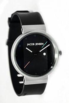 Jacob Jensen Uhr | Armbanduhr Jacob Jensen | Herrenuhr Jacob Jensen | schwarze Herrenuhr
