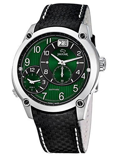 jaguar dual time herren armbanduhr j630 f. Black Bedroom Furniture Sets. Home Design Ideas