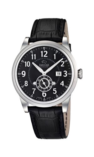 jaguar watches herren armbanduhr xl analog quarz leder. Black Bedroom Furniture Sets. Home Design Ideas