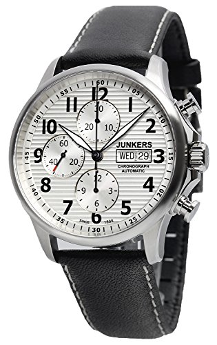junkers 6818 1 herren uhr tante ju chronograph automatik. Black Bedroom Furniture Sets. Home Design Ideas