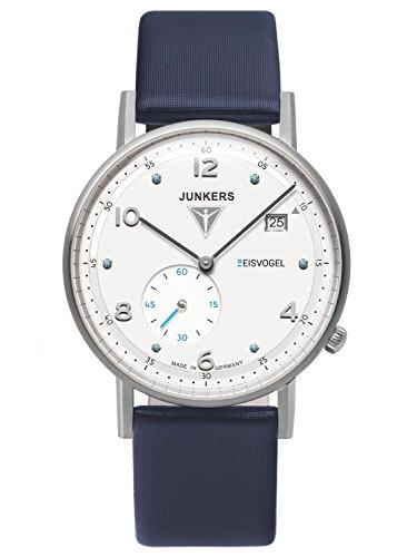Junkers Uhr | Armbanduhr Junkers | Damenuhr blau | damenuhr mit weißem Ziffernblatt