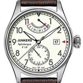 Junker Herrenuhr | Armbanduhr junkers | große Lederarmbanduhr