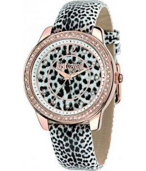 Leopard Damenuhr | Just Cavalli Uhr | Armbanduhr damen mit Leopardenmuster