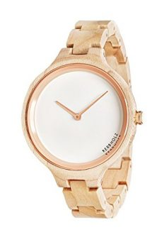 Holzarmbanduhr  | Kerbholz Uhr | ArmbanduhrKerbholz  | Damenuhr Kerbholz