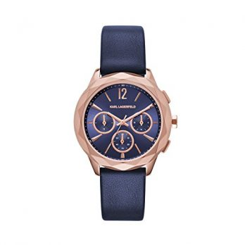 Karl Lagerfeld | Armbanduhr Karl Lagerfeld | Damenuhr Karl Lagerfeld | dunkelblaue Armbanduhr damen