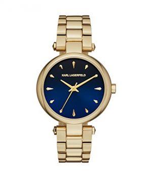 Karl Lagerfeld | Armbanduhr Karl Lagerfeld | Damenuhr Karl Lagerfeld | Damenuhr mit blauem Ziffernblatt
